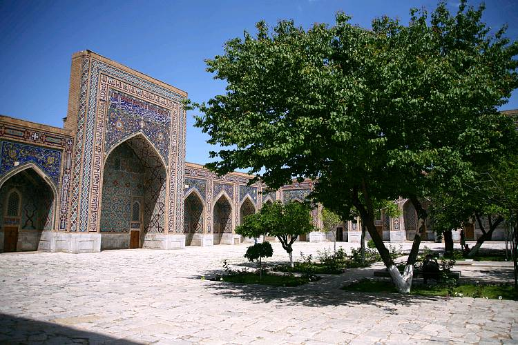 Le Registan - Samarcande, Ouzbékistan