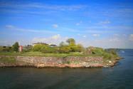 L'île de Suomenlinna... dernière vue de Finlande