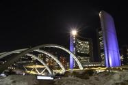 Mairie de Toronto et une patinoire en plein air