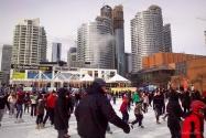 Toronto : patinoire